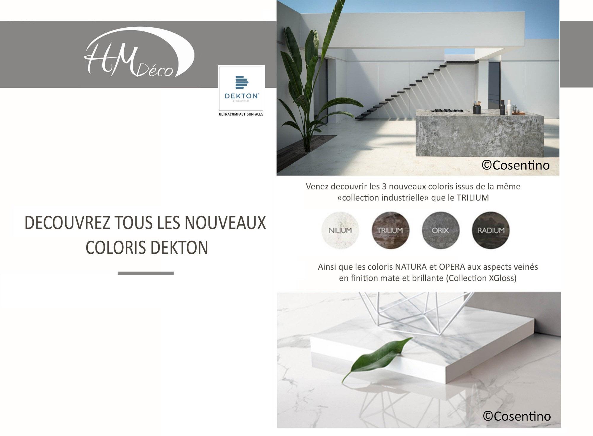 nouveaux dekton en Gironde chez HM DECO
