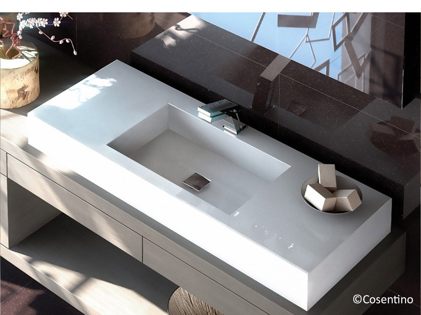 lavabos en quartz 40