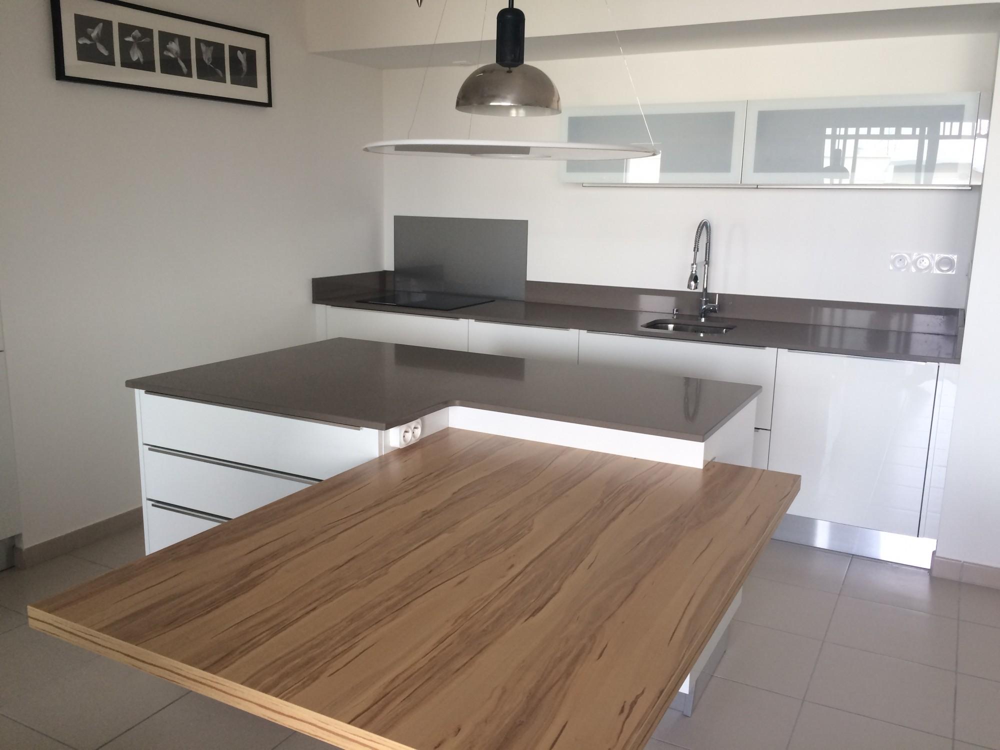 Plan De Travail Quartz realisations de plans de travail de cuisine en quartz
