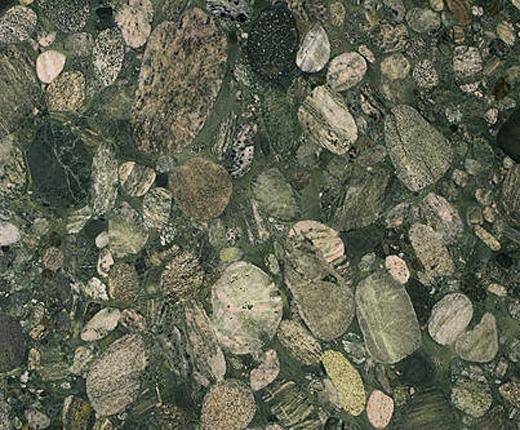 plan de travail en granit vert bordeaux