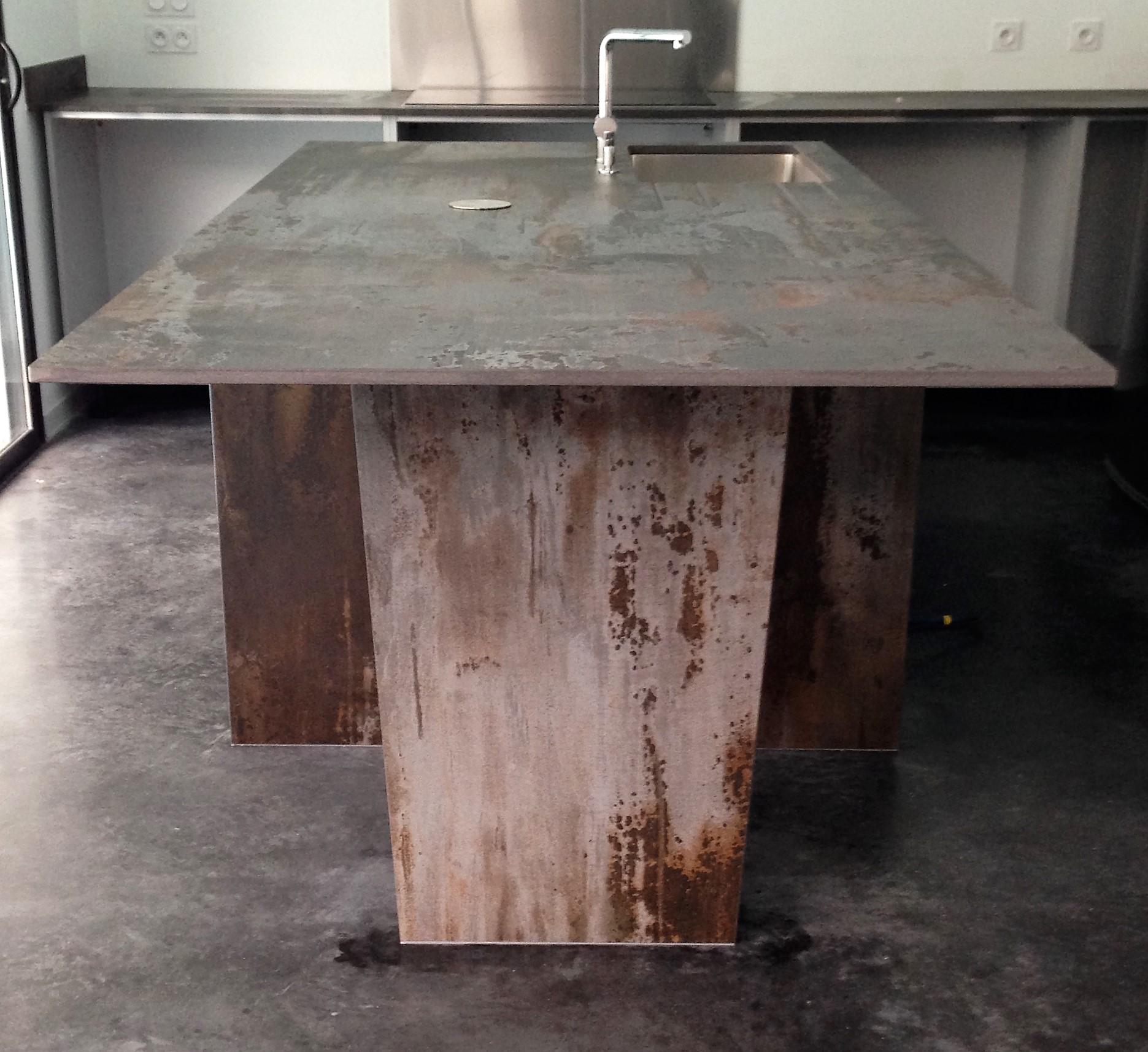 DEKTON TRILIUM - Faire une table en dekton trilium près de Bordeaux