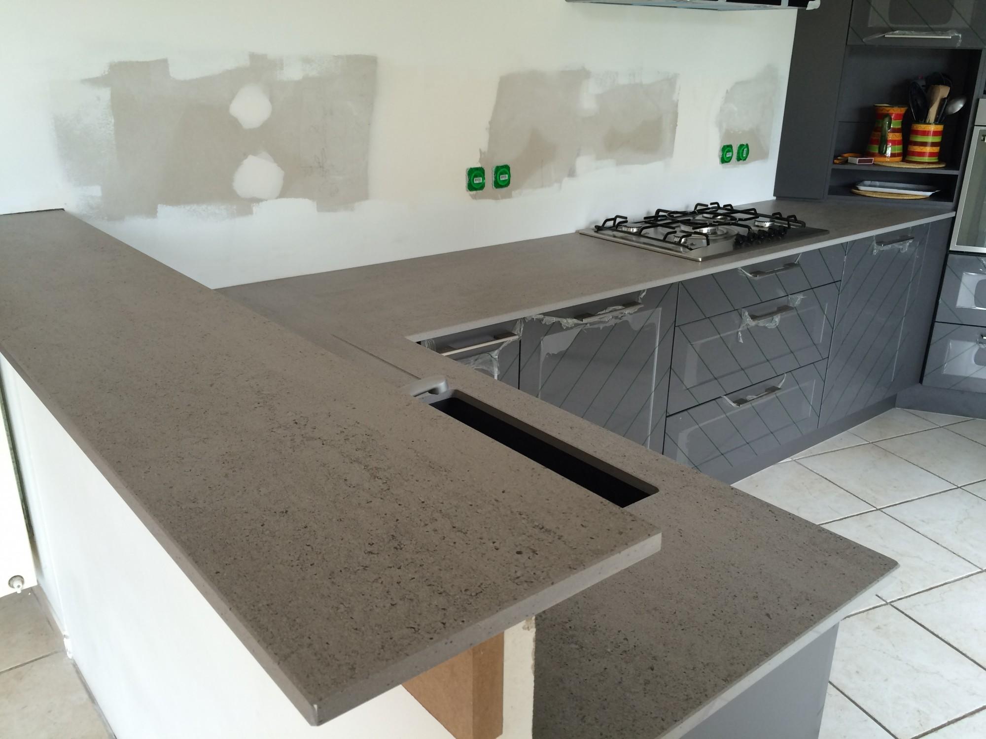DEKTON KEON - comptoir en dekton, quartz ou granit en région bordelaise