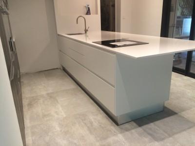 comptoir de cuisine en quartz aquitaine