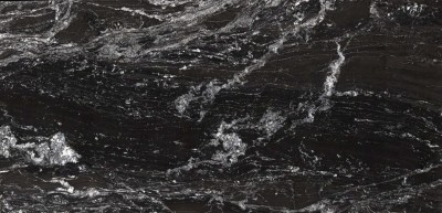 plan de travail noir à veinages blanc pour cuisine près de bordeaux